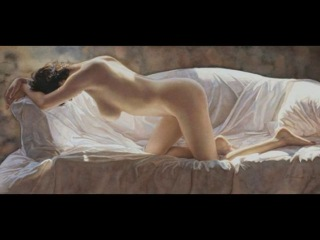 Steve Hanks - Female portrait nude