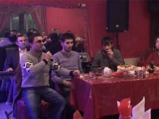 Meyxana - Mehman Ehmedli Oktay Samire Nuran Moskvada 2012 Kafe Tepliy Stan