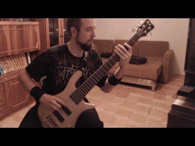 Brutal Truth - Godplayer (bass cover)