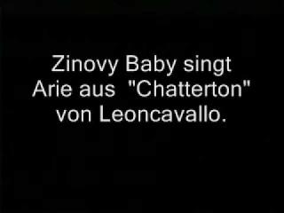 Зиновий Бабий поет арию Чаттертона (Леонкавалло)..wmv