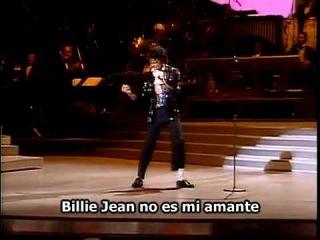 Michael Jackson - Billie Jean Motown (Subtitulado español)