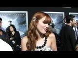 Shake It Up star Bella Thorne talks Taylor Lautner at Abduction premiere