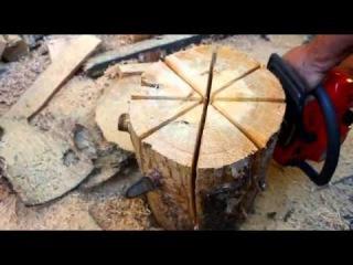 Как изготовить костер Шведская свеча