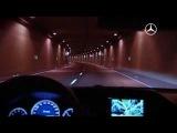 Mercedes-Benz.tv: A luminous night drive in the new E-Class Estate