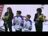 Los Angeles Kings Honor Ian Laperierre (24.02.2013)