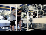 Joe DeRousie Leg Day with Justin Randal