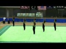 Rhythmic Gymnastics Group ガンダムUC 青森大学 Aomori Universi