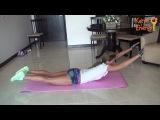 Комплекс для для здоровой спины и осанки+попа/Back Workout(KatyaEnergy)