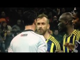 Raul Meireles did NOT spit. Different cameraview, CLOSE-UP - Galatasaray vs Fenerbahce.