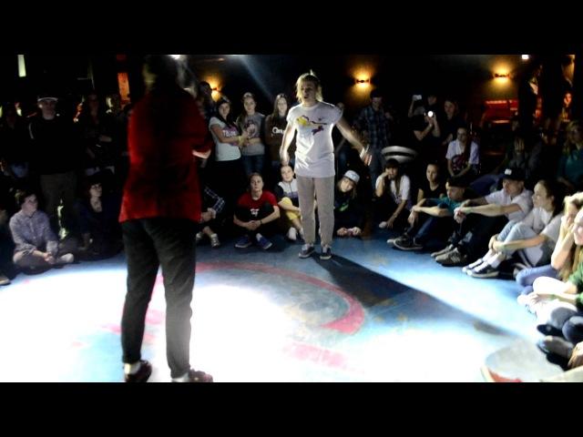 BLACKGROUND BATTLE Vol.2 Белгород /Карина B-Kay (TM) vs Мари - Hip-Hop 1/8 » Freewka.com - Смотреть онлайн в хорощем качестве