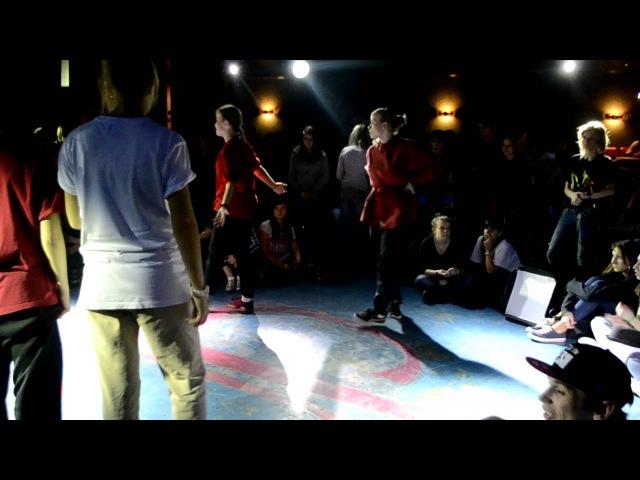 BLACKGROUND BATTLE Vol.2 Белгород / Hip-Hop 2х2 1/4 Мари Margo vs TWISED MIND » Freewka.com - Смотреть онлайн в хорощем качестве