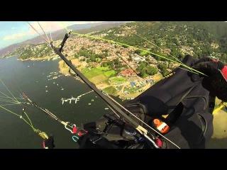 Paragliding Collapse in Valle de Bravo, Mexico