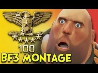 BATTLEFIELD 3 - SUPER MONTAGE by DIMONSTERUS
