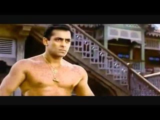 Bollywood Bare Chested Hunk Salman Khan Shirtless Action Scenes