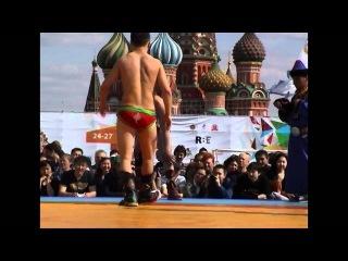 2012 Бухэ Барилдаан бурятская борьба на Red Square