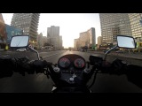 Sunny Moscow on Motorcycle