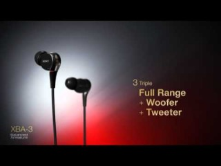 Sony XBA Headphones | Experience Balanced Armature