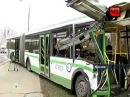 ДТП в Москве. 11 пострадавших. Автобус с Грузовиком.