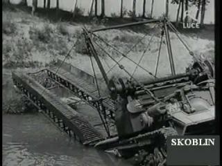 1940 Italian Carro Gettaponte and L.3 (Carro Veloce 3/35)Tankette