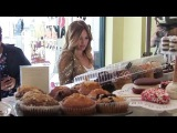 Hilary Duff Gears Up For Valentines Day With Cupcakes