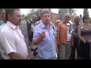 Сегодня, 16 августа, в объявленное время на площади Павших борцов начался митинг «Формирование гражданского общества». Ему предшествовала довольно эмоциональная дискуссия почти во всех городских СМИ, считать ли митинг законным. На  дальних подступах к пло