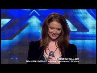 X Factor Australia 2011 - Tara-Lynn Sharrock's Audition (I Will Always Love You)