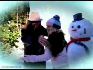 Ozzy & Jessica Simpson - Walking In A Winter Wonderland