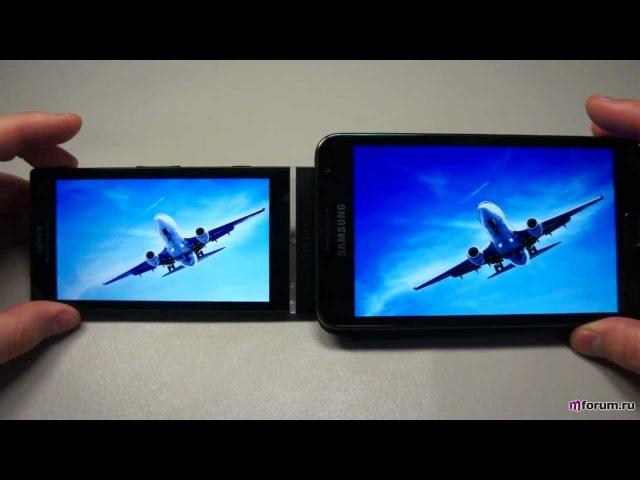 Sony Xperia S LT26i. Дисплей