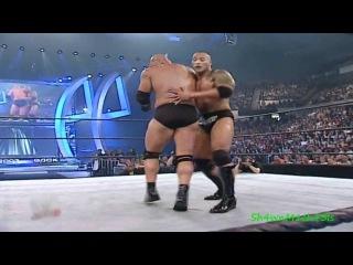 The Rock Vs. Goldberg Highlights - HD Backlash 2003
