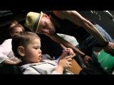 Кузина Ксения в Бекстейдже клип Павел Воля - Я - танцую! (Backstage)
