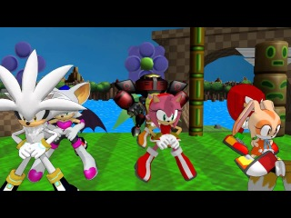 MMD Newcomers sonic friends snow fairy