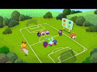 Смешарики Футбол 1 Тайм