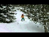 I Was Born This Way -- 4 Year-Old Snowboarder Wesley Muresan