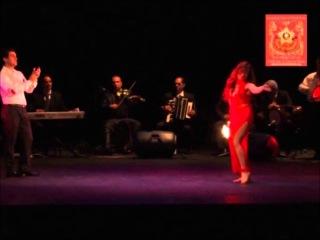 Dalila of Cairo in Moscow february 2012 dancing at Tarik el Nougum to Amareen Alababi