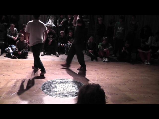 Motion One 2012 semifinal final Ynek Vinnie San East Side B Boys Fury conquistador