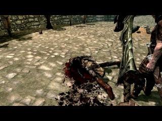 Skyrim - обезглавливание