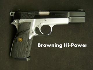 Browning Hi Power Pistol Disassembly