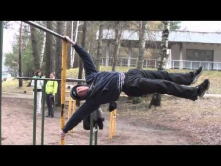 Visaginas street workout. 1st December