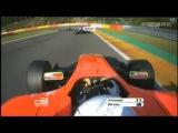 GP3 2012 Big Crash for Cregan at Spa