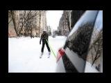 Прогулка на лыжах по Киеву 24 марта