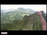 Прогулка альпинистов по вершине горы