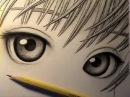 Как рисуют глаза в манге.