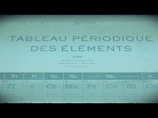 French Periodic Table: Sideshow Sign Co.