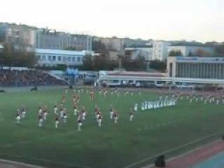 Саратов-Локомотив, посвящение в студенты-барабанщицы
