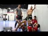 A minute in the training camp of Dan Henderson for UFC 157 a minute in the training camp of dan henderson for ufc 157