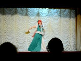 Akari 2012. Танец Touhou Project