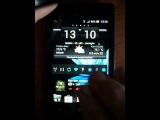 Xperia Go Android 4.0.4 ICS speed test