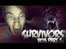 SO MUCH SCREAMING! D: - SURVIVORS: Beta (Download Link) - (Co-op Horror!) - Part 1
