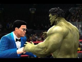 WWE 13 | Incredible Hulk vs PSY