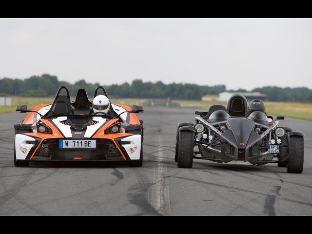 KTM X-Bow R VS Ariel Atom 300 accélération (Motorsport)